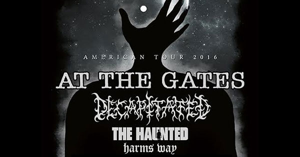 At The Gates Tour