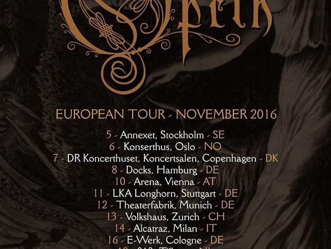 Opeth Europ