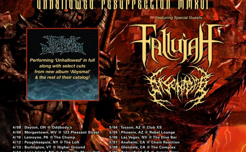 TBDM Unhallowed Tour