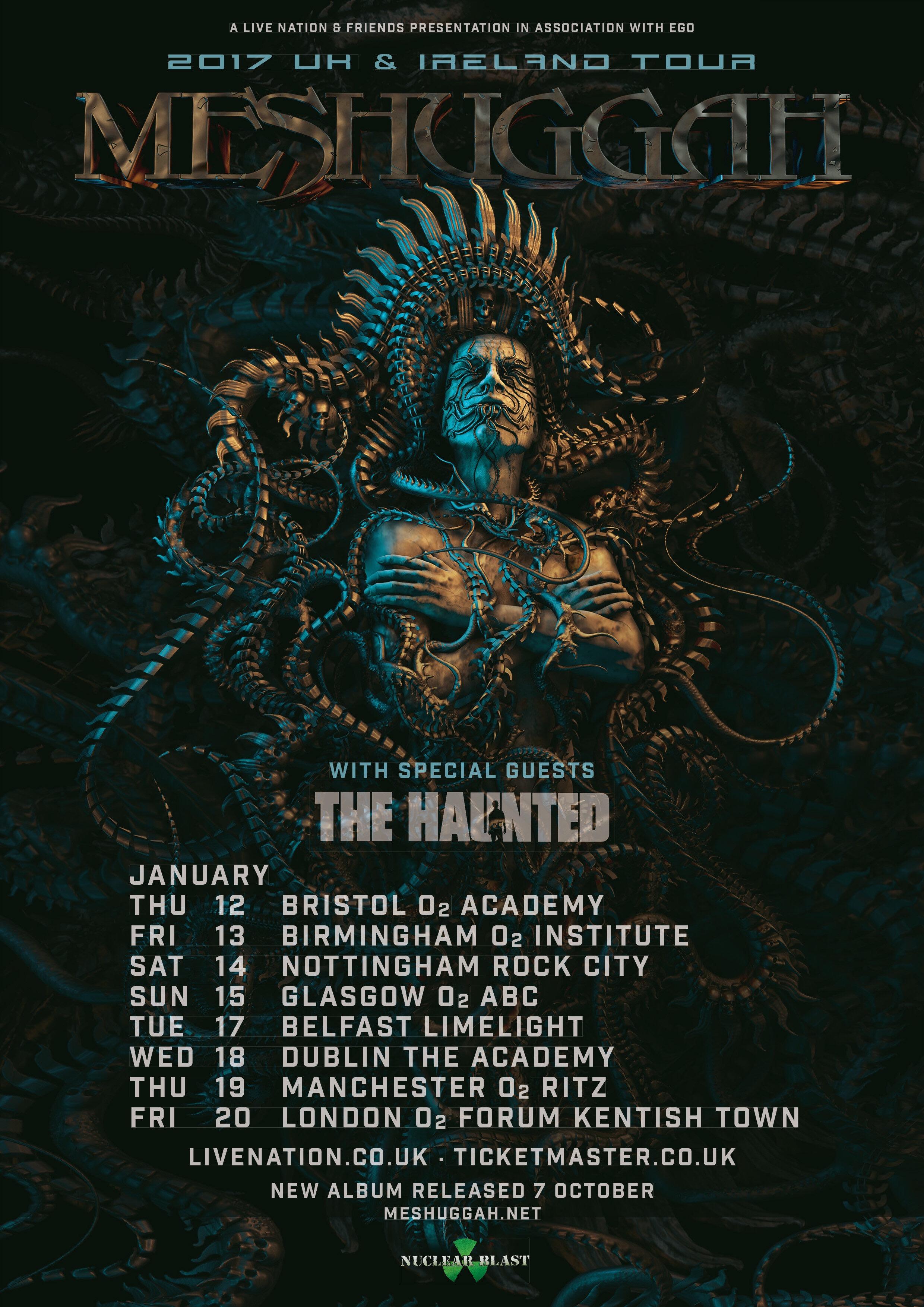 Devin Townsend Juice On Tour