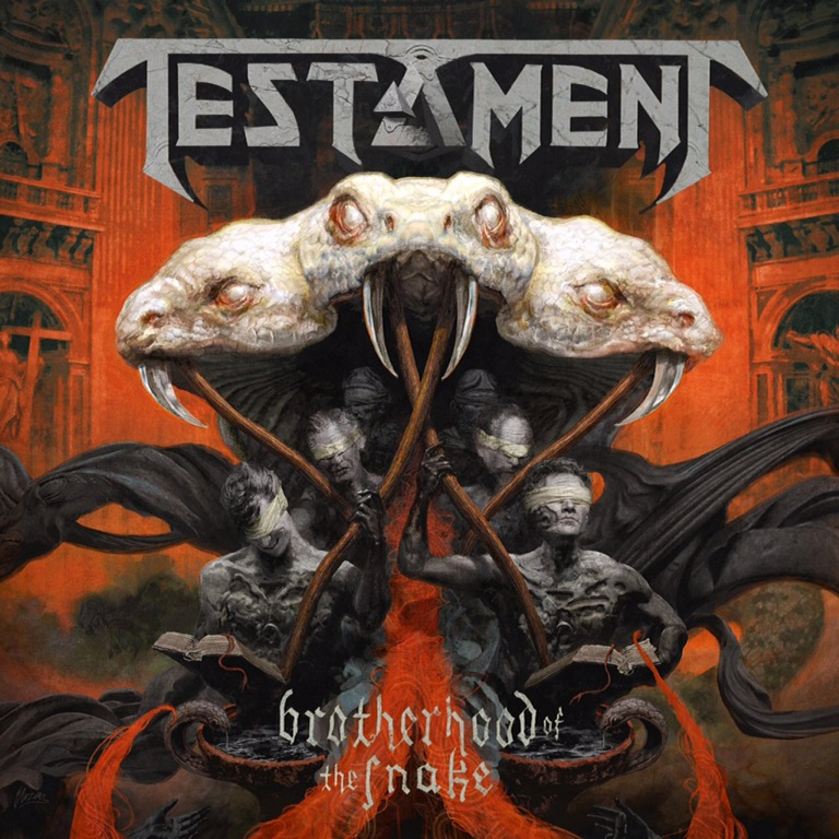 Album Review : Testament – The Brotherhood Of The Snake – The Metalist